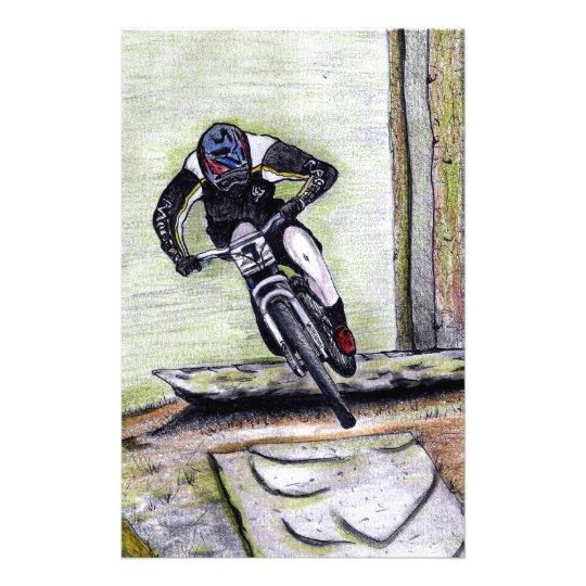 Mountainbike Llandegla mtb bmx Briefpapier