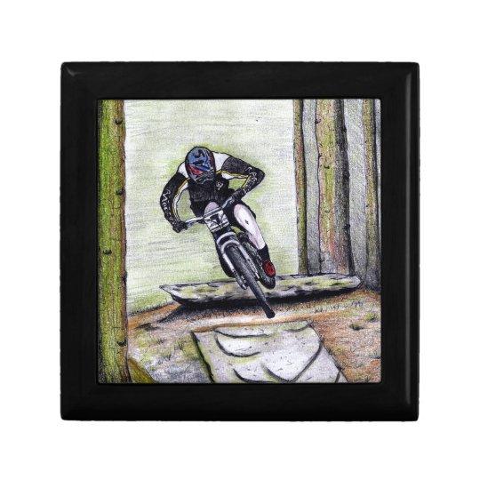 Mountainbike Llandegla mtb bmx Kleine Quadratische Schatulle