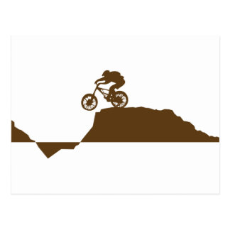 Mountainbike Postkarten