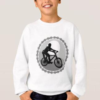 Mountainbikekettenkettenrad Grayscale Sweatshirt