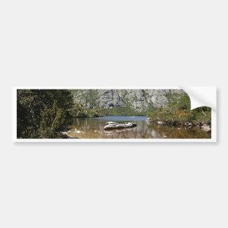 Mountainsee, Tasmanien, Australien Autoaufkleber