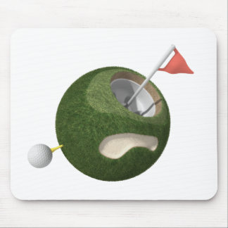 Mousemat | Minigolf-Planet Mousepad
