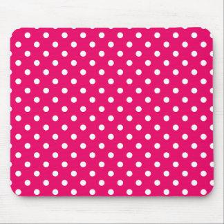Mousepad Dots Pink Tapis De Souris