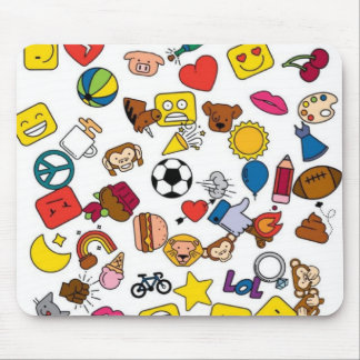 Mousepad Emoticons