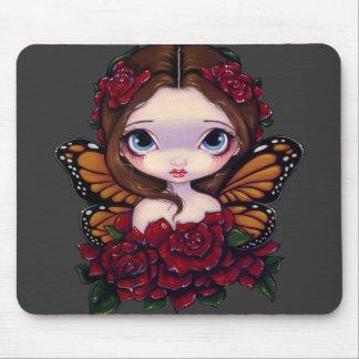 """"""" Mousepad féerique """"rose Tapis De Souris"""