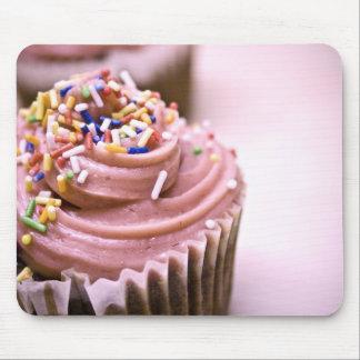 Mousepad rose de petit gâteau tapis de souris