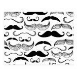 Moustache drôle cartes postales