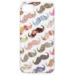 Moustaches colorées Girly drôles de motifs iPhone 5 Case
