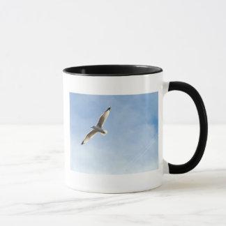 Möve in den Wolken Tasse