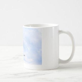 """Möven-Kaffee-Tasse """"ließ Ihre Träume ansteigen """" Tasse"""
