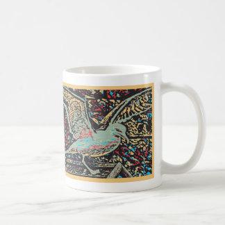 Möven-Pop-Kunst-Tasse Tasse