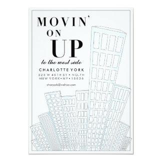 Movin auf hoher beweglicher Mitteilung Karte