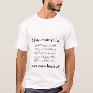 mozart_kv356, spiele ich Musik you'venever sogar T-Shirt