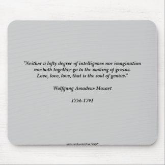 Mozart-Zitat Mousepads