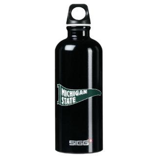 MSU Spartans | Michigan Staats-Universität 4 Aluminiumwasserflasche