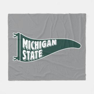 MSU Spartans | Michigan Staats-Universität 4 Fleecedecke