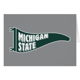 MSU Spartans | Michigan Staats-Universität 4 Karte