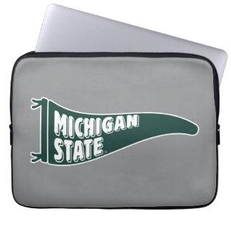 MSU Spartans | Michigan Staats-Universität 4 Laptop Sleeve