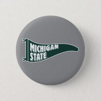 MSU Spartans | Michigan Staats-Universität 4 Runder Button 5,1 Cm