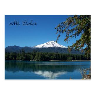 Mt. Bäcker-Postkarte Postkarte