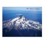 Mt. Cartes postales de l'Orégon de capot