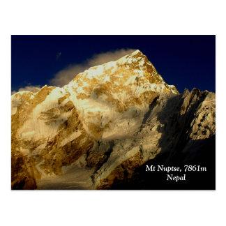 Mt Nuptse Postkarte