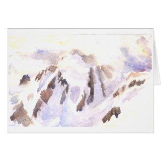 Mt. Shuksan in einem Sturm, stützen wir Sie Karte