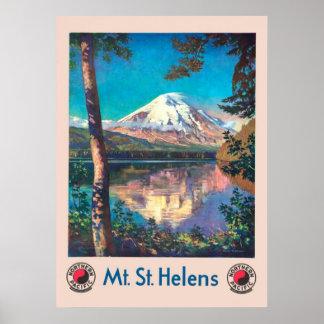 Mt. St. Helens, für pazifisches NordVintages Poster