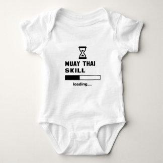 Muay thailändisches Fähigkeit Laden ...... Baby Strampler