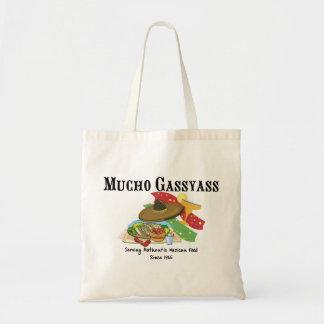 Mucho Gassyass Mexikaner-Nahrung Budget Stoffbeutel