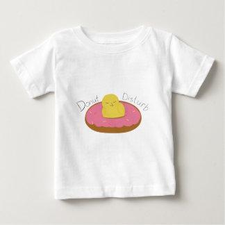 Müder Krapfen-Vogel Baby T-shirt