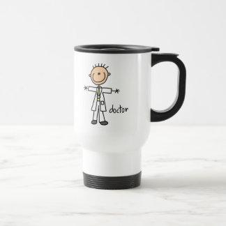 Mug De Voyage Docteur Stick Figure