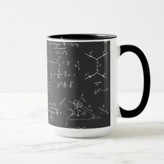 Mug Diagrammes et formules de physique