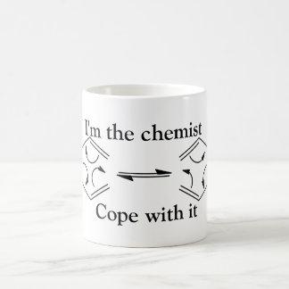 Mug Je suis le chimiste…