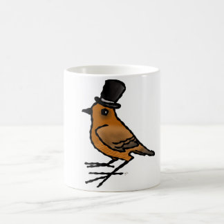 """Mug """"Oiseau au chapeau"""""""