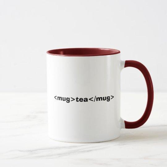 <mug>Tee</mug> Tasse