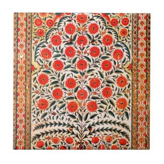 Mughal Kunst Kleine Quadratische Fliese