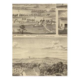 Mühlen, Isenours Glenwood, Minnesota Postkarte