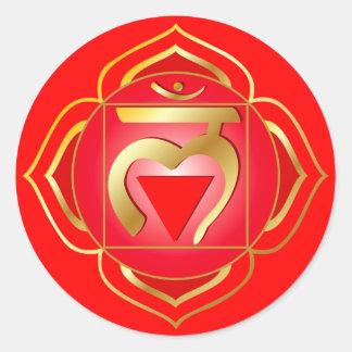 muladhara oder Wurzel chakra Aufkleber