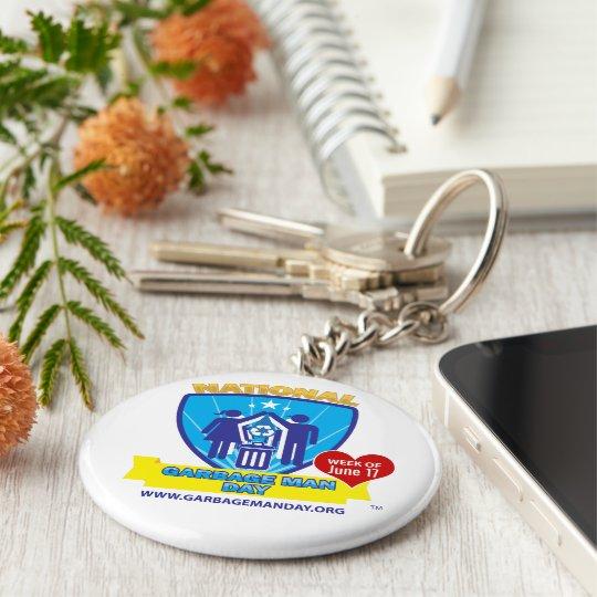 Müllmann-Tag Keychain Schlüsselanhänger