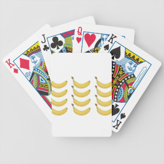 Multi Banane transparent Bicycle Spielkarten