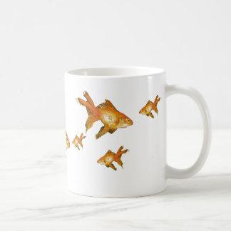 multi extravagante Goldfishmasse Kaffeetasse