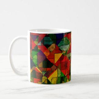 Multi Farbe   abstrakt keine 12 Kaffeetasse