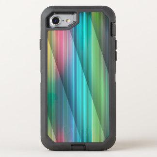Multi Farbe abstraktes (1) OtterBox Defender iPhone 8/7 Hülle