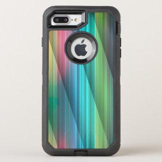 Multi Farbe abstraktes (1) OtterBox Defender iPhone 8 Plus/7 Plus Hülle