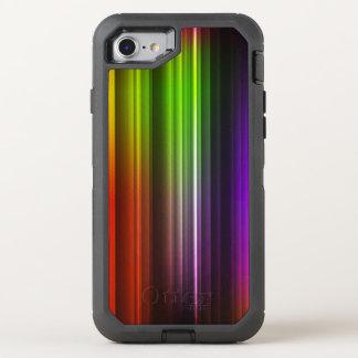 Multi Farbe abstraktes (2) OtterBox Defender iPhone 8/7 Hülle