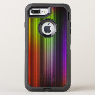 Multi Farbe abstraktes (2) OtterBox Defender iPhone 8 Plus/7 Plus Hülle