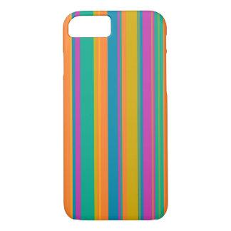 Multi Farbe striped iPhone 8/7 Hülle