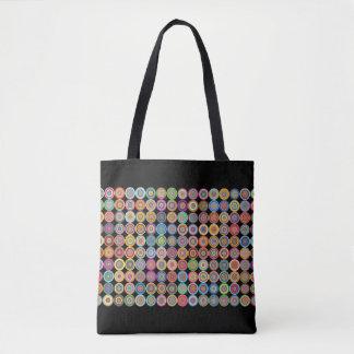 Multi-Färben-Kreis-Hoch Tasche