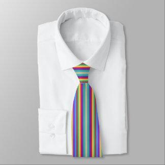 Multi Farbstreifen Personalisierte Krawatte